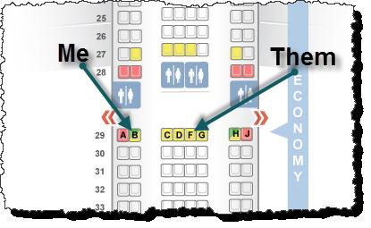 Lance Rants - A-330 Seatmap - Athens Trip