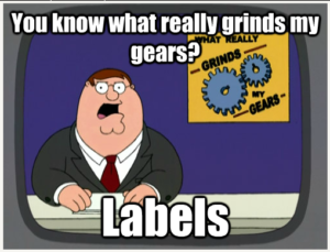 Lances Rants - GrindsMyGears - Labels