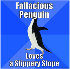 Lances Rants - Penguin - Slipery Slope